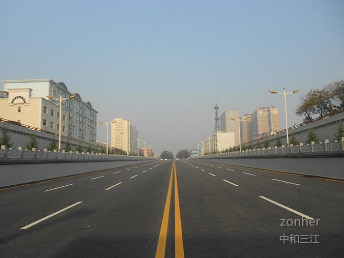 五一东路穿越南同蒲线立交桥工程