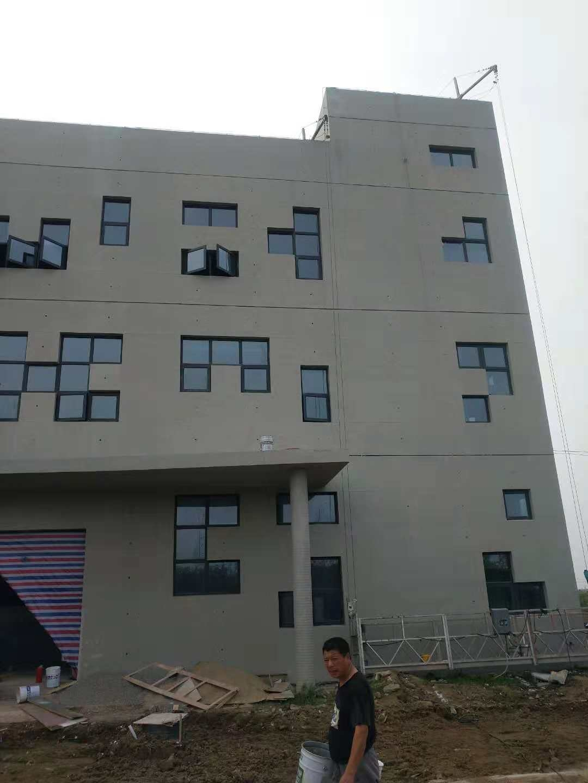 南通开发区日驰机械办公楼仿清水项目